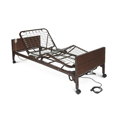 Adjustable Height Semi-Electric Economy Bed Frame