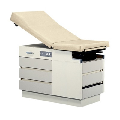 Five Drawer Exam Table with Stirrups