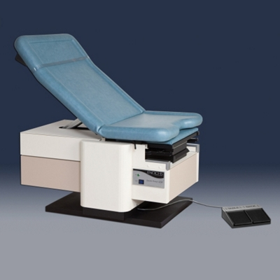Electric Exam Table with Pelvic Tilt and Heated Exam Tray