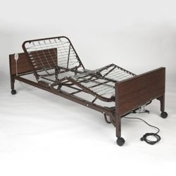 Adjustable Height Semi-Electric Bed Frame
