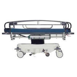 Adjustable Height Transport Stretcher with CuVerro Antimicrobial Rails
