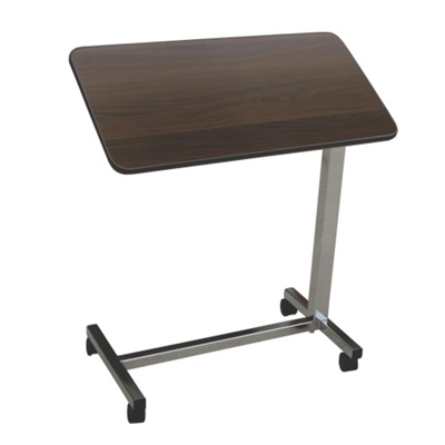 Economy Adjustable Height Tilt Top Overbed Table