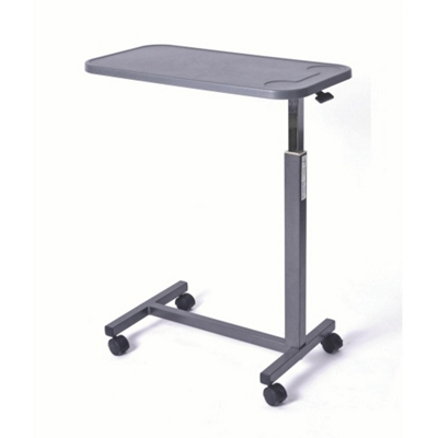 Economy Adjustable Height Overbed Table with Composite Top
