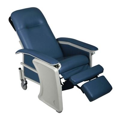 Mobile Patient Recliner with Adjustable Headrest