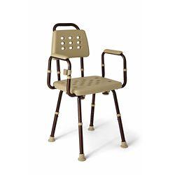 """Microban Shower Chair - 22.4""""W"""