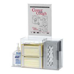 Acrylic Wall Mounted Hygiene Station