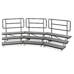 """Backrail for 48"""" Mobile Riser"""