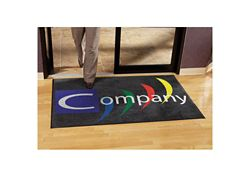 "Indoor Custom Logo Mat - 48"" x 72"""