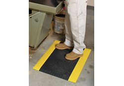 "Self- Extinguishing Anti-Fatigue Safety Mat - 36"" D x 60"" W x 1/2"" Thick"