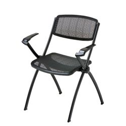 Mesh Stack Chair with Arms