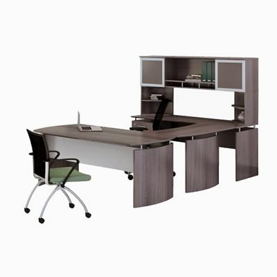 "Left Executive U-Desk with Hutch - 73""W"