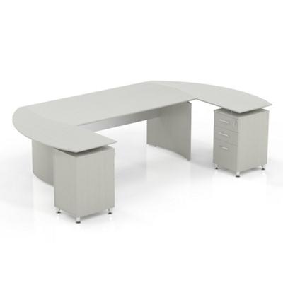 "Curved U-Desk - 112""W"