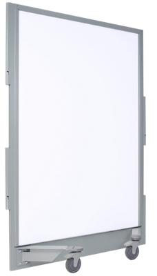"55""W x 77.75""H Mobile Ballistic Whiteboard Panel"