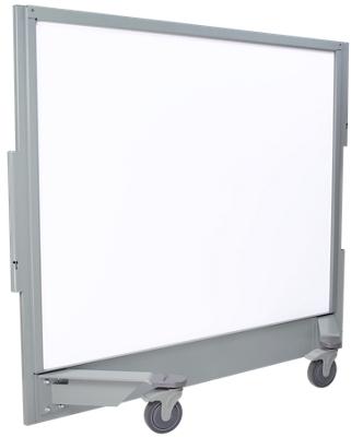 "61""W x 54""H Mobile Ballistic Whiteboard Panel"