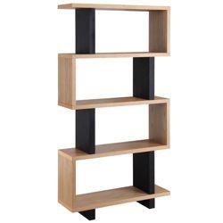 """Four Shelf Bookcase - 35""""W x 66""""H"""