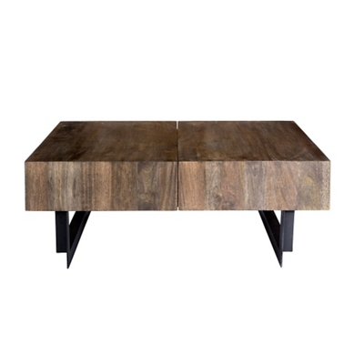 "Solid Wood Coffee Table - 42.5""W"