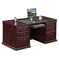 "Executive Double Pedestal Desk - 68""W"