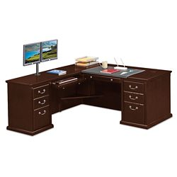 "L-Desk with Left Return - 68""W"