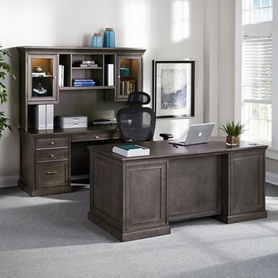 Statesman Three Piece Office Suite