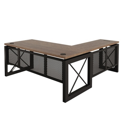 "Urban Reversible L-Desk - 72""W x 80""D"