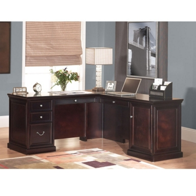 Fulton L-Desk with Right Return