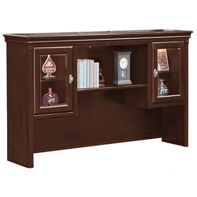 "Hutch with Glass Doors - 69""W"