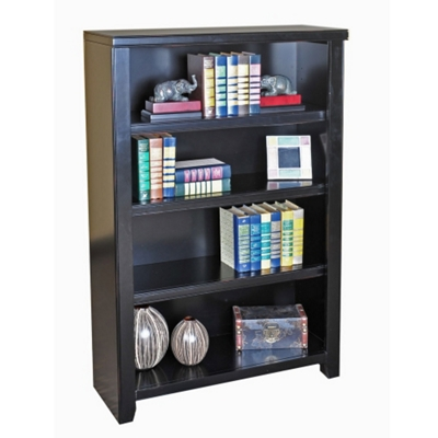 "48"" H Four Shelf Open Bookcase"