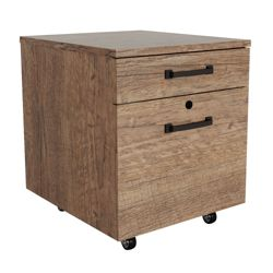 "Urban 18""W Two Drawer Mobile File Pedestal"