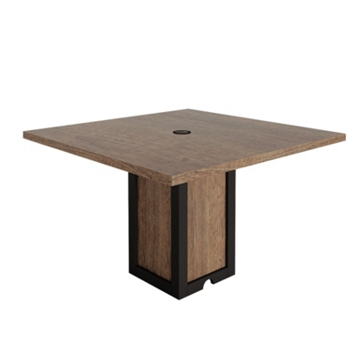"Urban Square Conference Table - 48""W x 48""D"