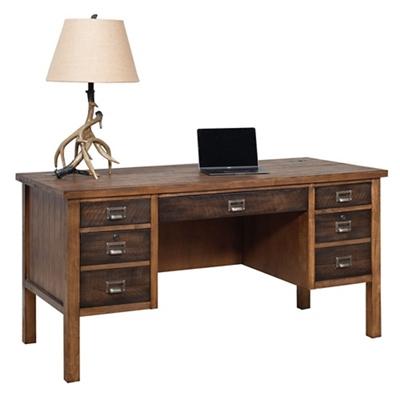 "Half Pedestal Desk - 60""W"