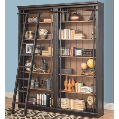 "12 Shelf Bookcase Wall - 94""H"