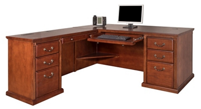 "L-Desk with Left Return - 68.25""W"