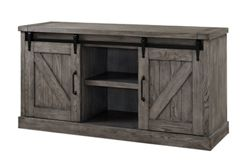 "Media Console with Sliding Door - 60""W"
