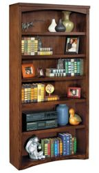 "72""H Mission Open Bookcase"