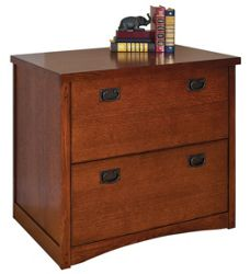 Mission Finish Two Drawer Lateral File