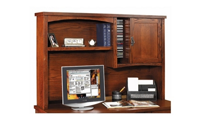 Mission Finish Organizer Hutch