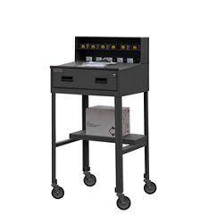 """Mobile Shop Desk - 23""""W x 20""""D"""
