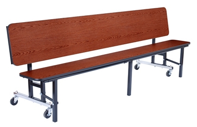 Magnificent 7 Convertible Bench Table 15W X 84D By National Public Gmtry Best Dining Table And Chair Ideas Images Gmtryco