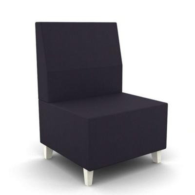 Modern Fabric or Vinyl Armless Chair