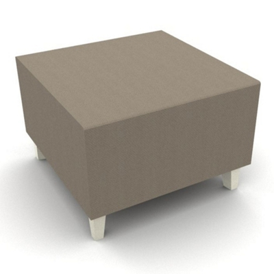 Modern Fabric or Vinyl One Seat Bench