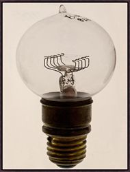 "Oversized Light Bulb 2 Framed Canvas Art Print - 38""W x 50""H"