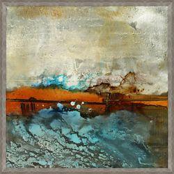 """High Tide Framed Art - 51""""W x 51""""H"""