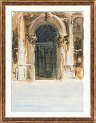 "Venetian Watercolors 1 Framed Art Print - 28""W x 36""H"