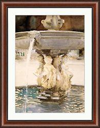 "Venetian Watercolors 2 Framed Art Print - 28""W x 36""H"