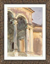 "Venetian Watercolors 4 Framed Art Print - 28""W x 36""H"