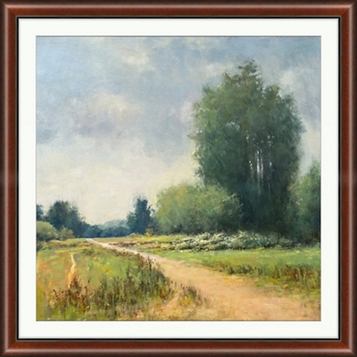 "Backroads 11 Framed Art Print - 42.5""W x 42.5""H"