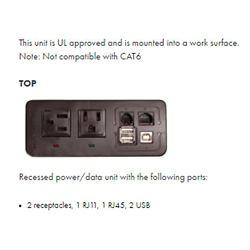 Power source - top