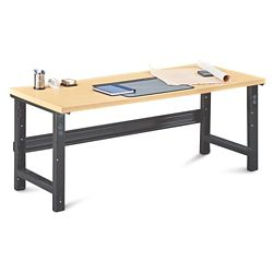 "Annex Industrial Adjustable Height Executive Desk - 72""W"