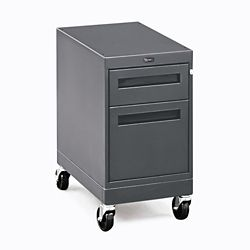 "Annex Industrial Two Drawer Locking Mobile Pedestal - 15""W"