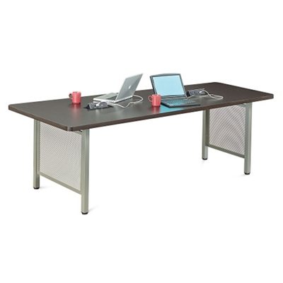 "At Work Angled Media Table - 96""W x 36""H"